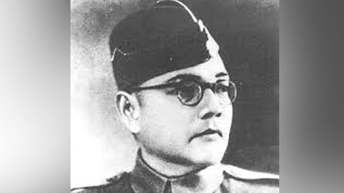 Late freedom fighter Netaji Subhas Chandra Bose