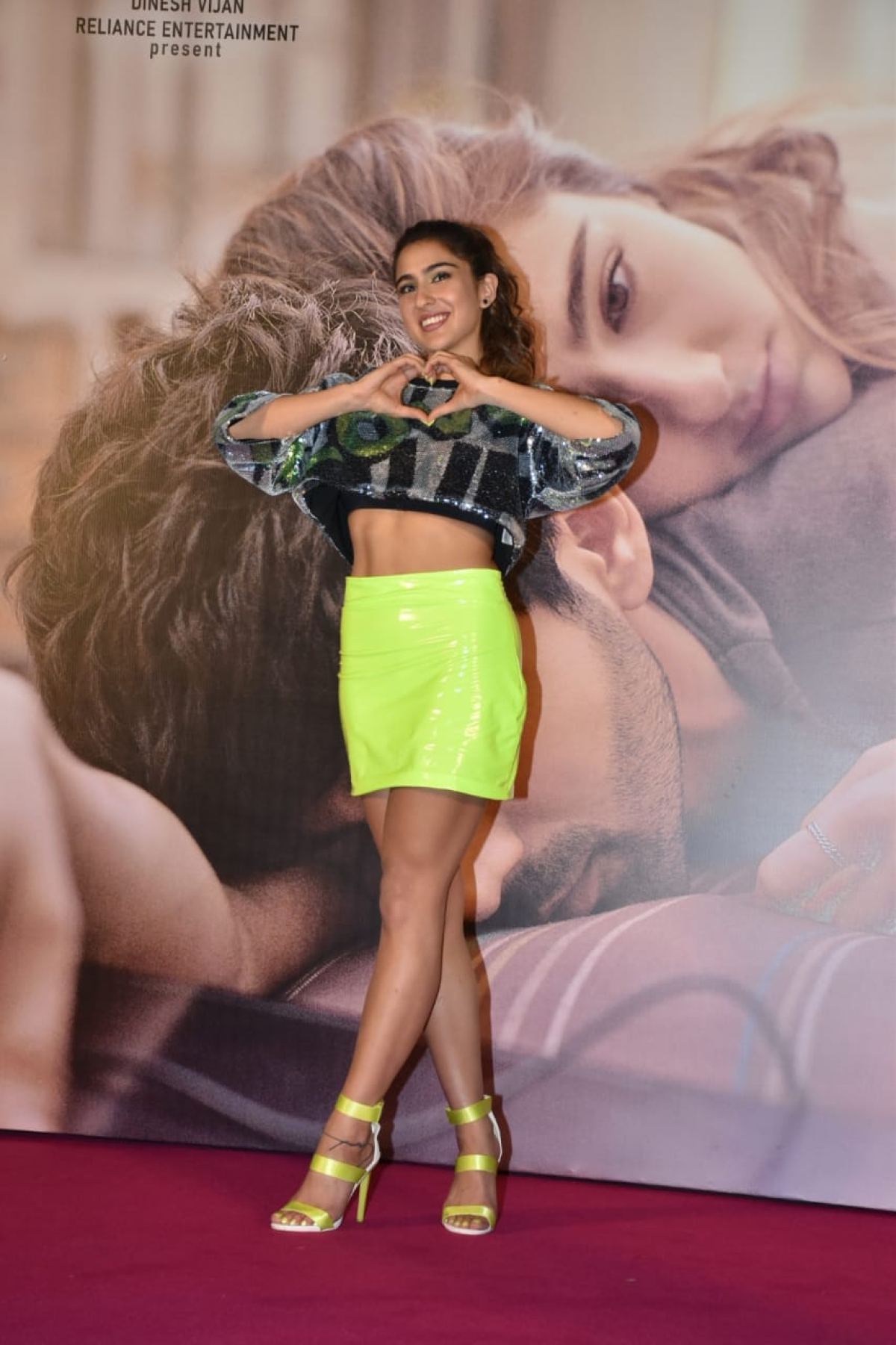 Sara Ali Khan at the trailer launch