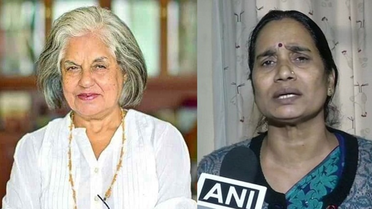 Senior advocate Indira Jaising urged the mother of Nirbhaya to pardon the men on death row who were convicted for the 2012 gang rape of her daughter