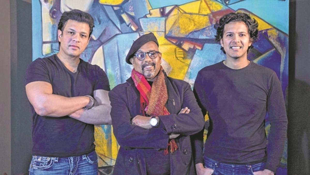 When senses meet - Musicians Ayaan and Amaan Ali Bangash perform with artist Paresh Maity