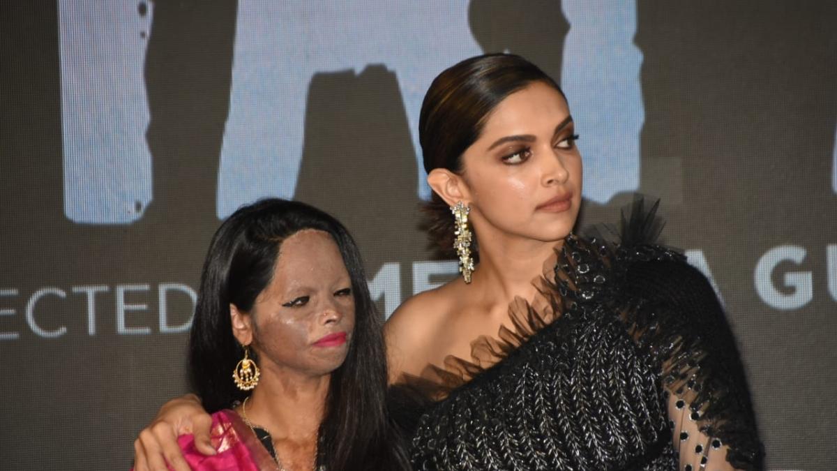 Chhapaak: Laxmi Agarwal breaks down during title song launch