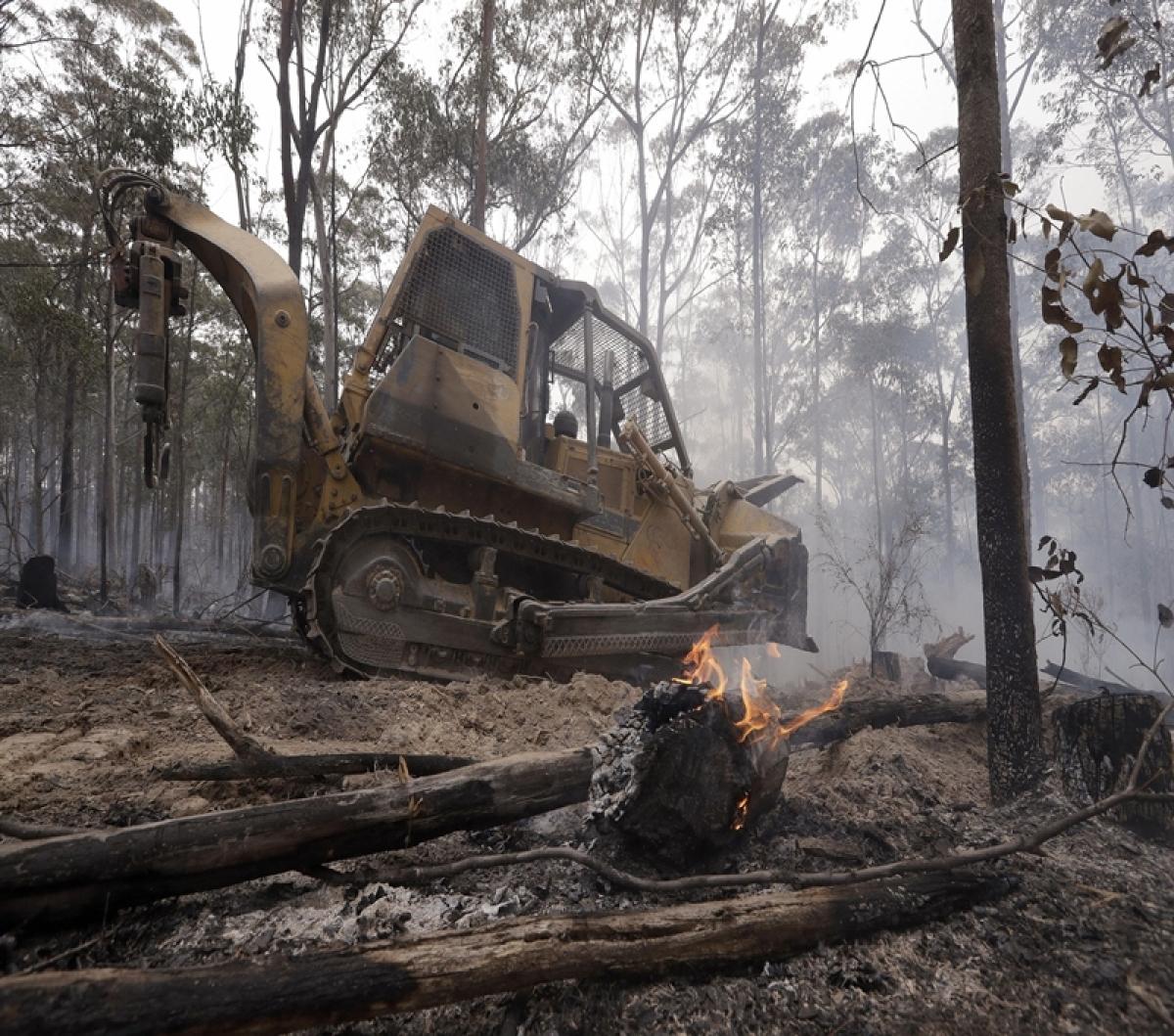 Australia's largest 'megablaze' brought under control: Fire Service commissioner