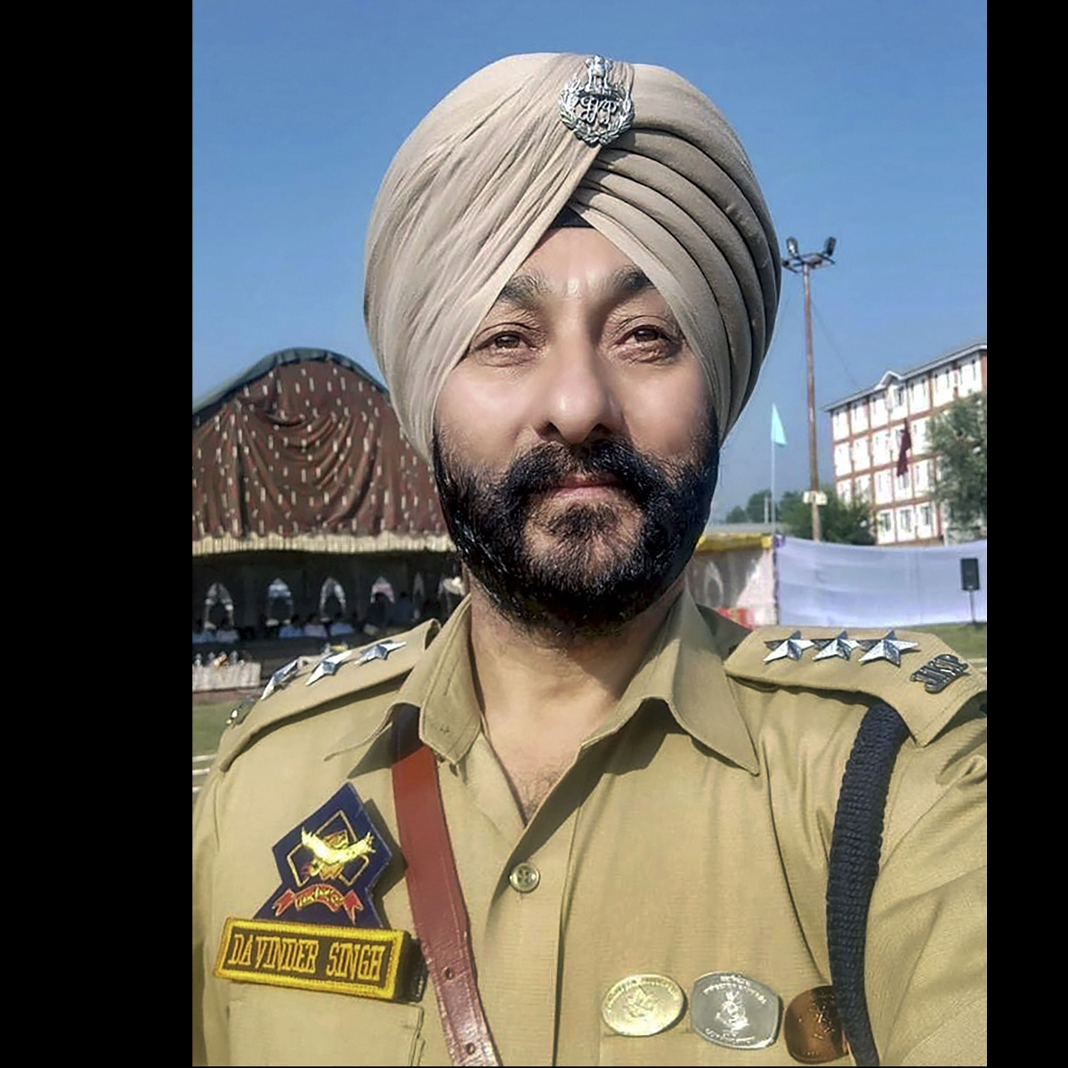 Suspended DSP Davinder Singh, others produced before NIA court in Jammu