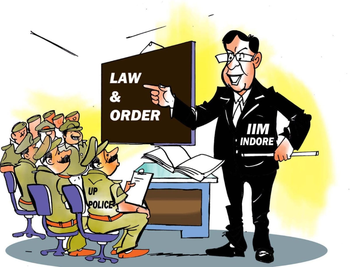 IIM Indore to help UP police in strengthening beat system