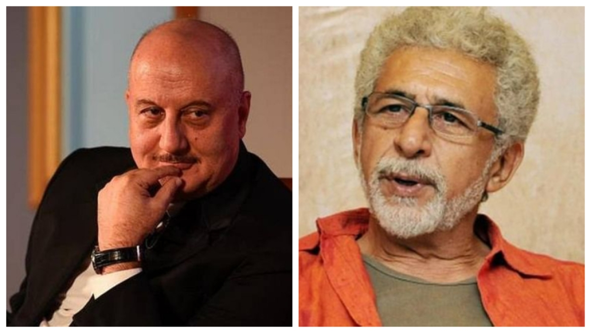 'Lived your whole life in frustration': Anupam Kher hits back at Naseeruddin Shah