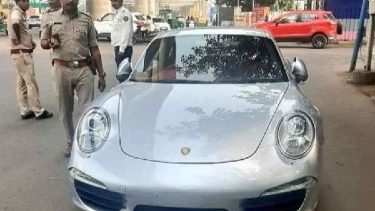 Porsche-aaaaa: Car owner fined Rs 27 lakh for violations