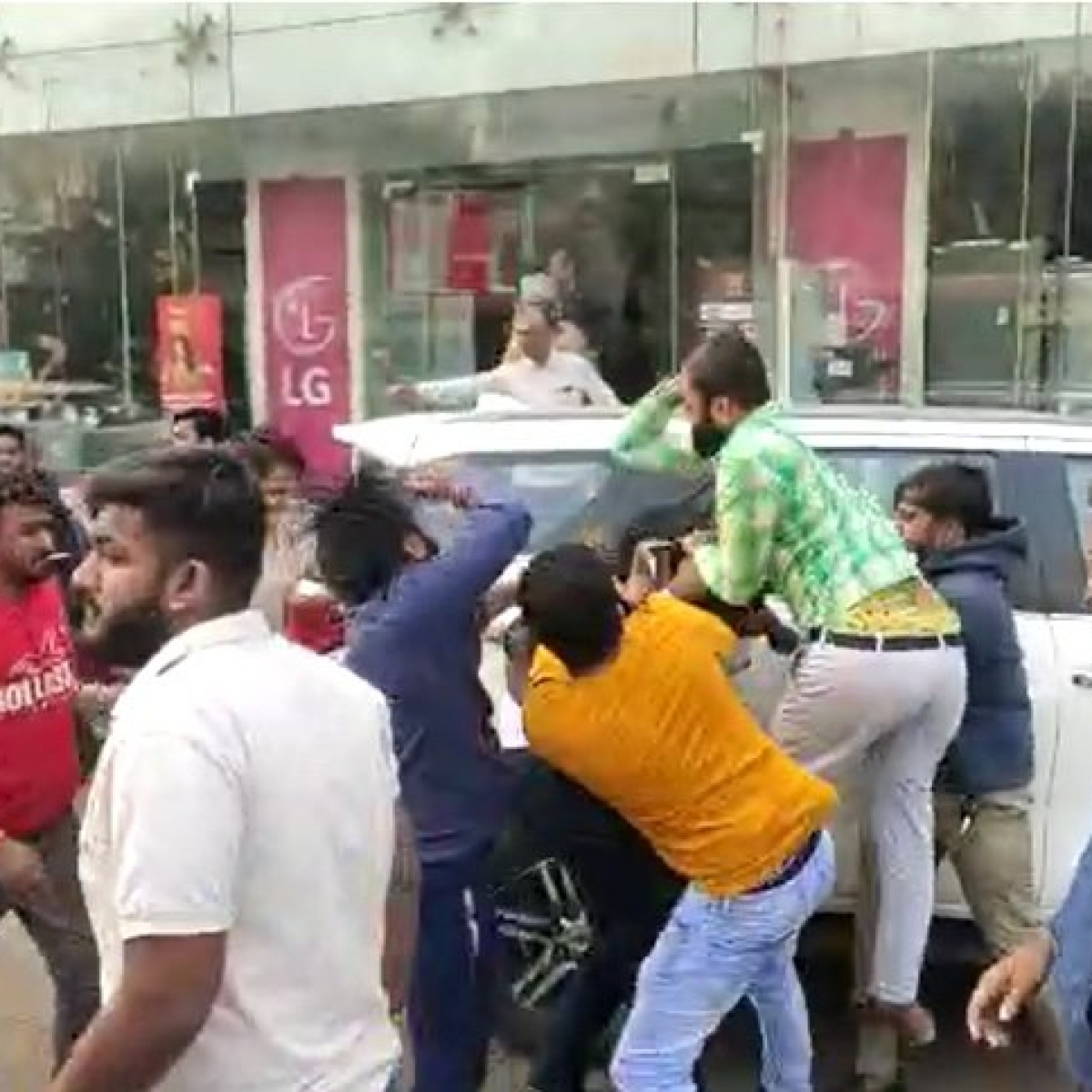 Day after clash, 25 members of ABVP and NSUI booked