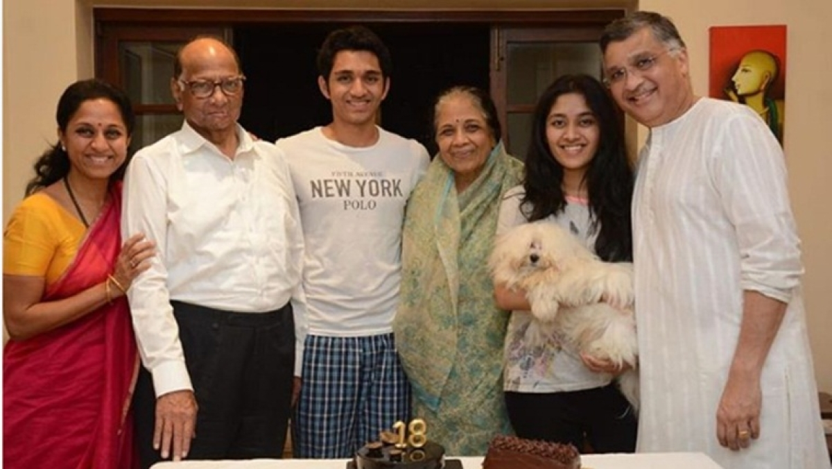 Supriya Sule shares picture of her son's birthday celebrations