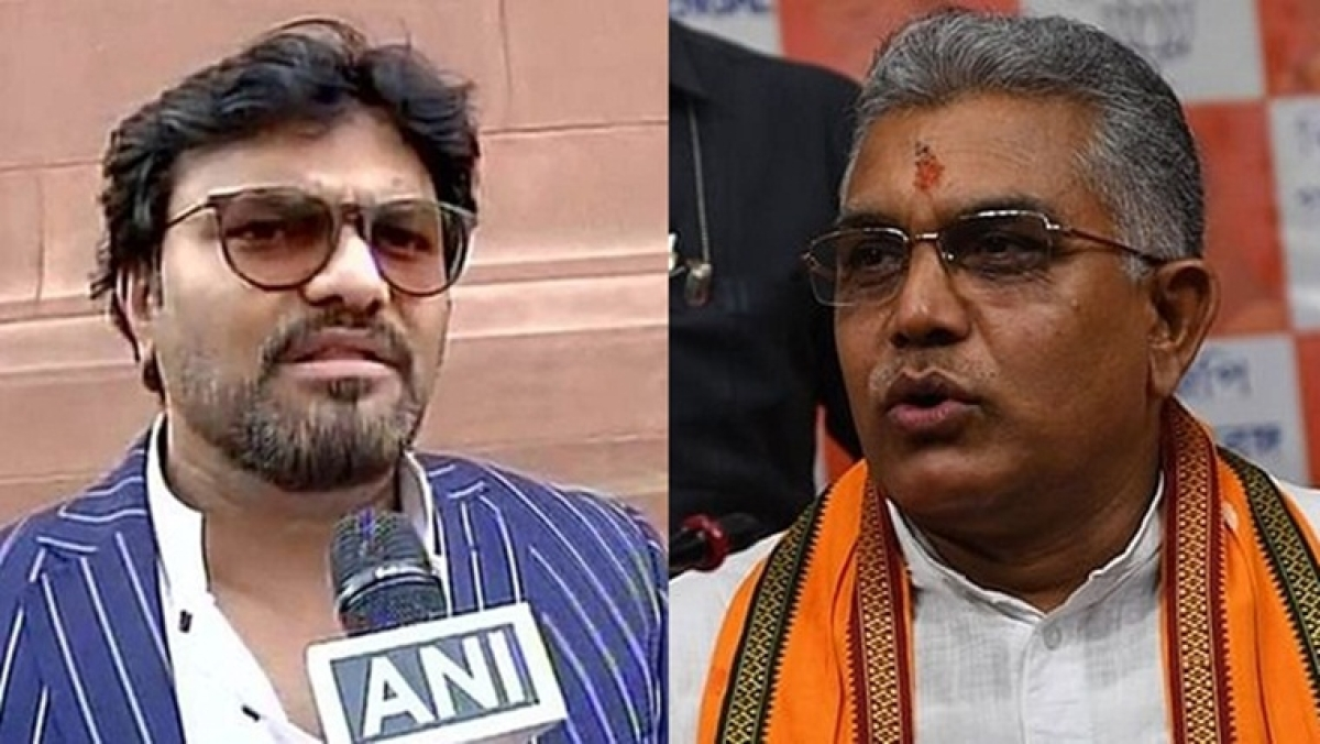 'Figment of his imagination': Babul Supriyo spars with Dilip Ghosh over latter's 'shot like dogs' comment