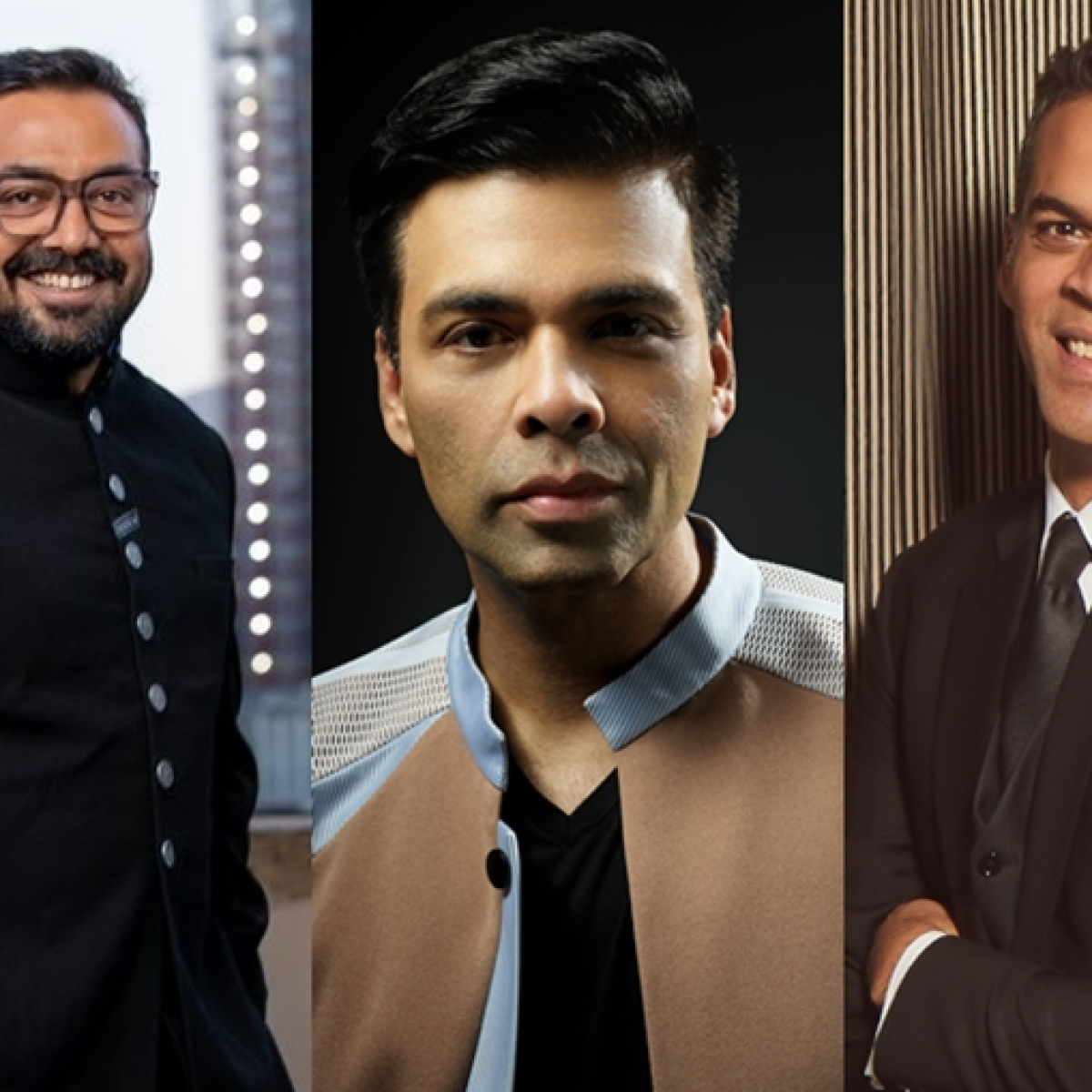 Netflix announces three new films from Anurag Kashyap, Karan Johar and Vikramaditya Motwane