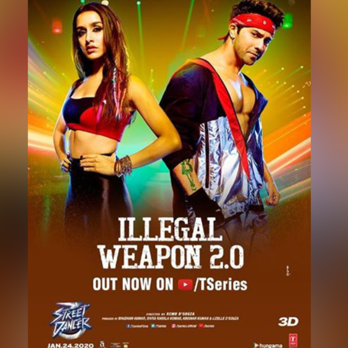 Street Dancer 3D: Shraddha Kapoor, Varun Dhawan gear up for dance face-off in 'Illegal Weapon 2.0'