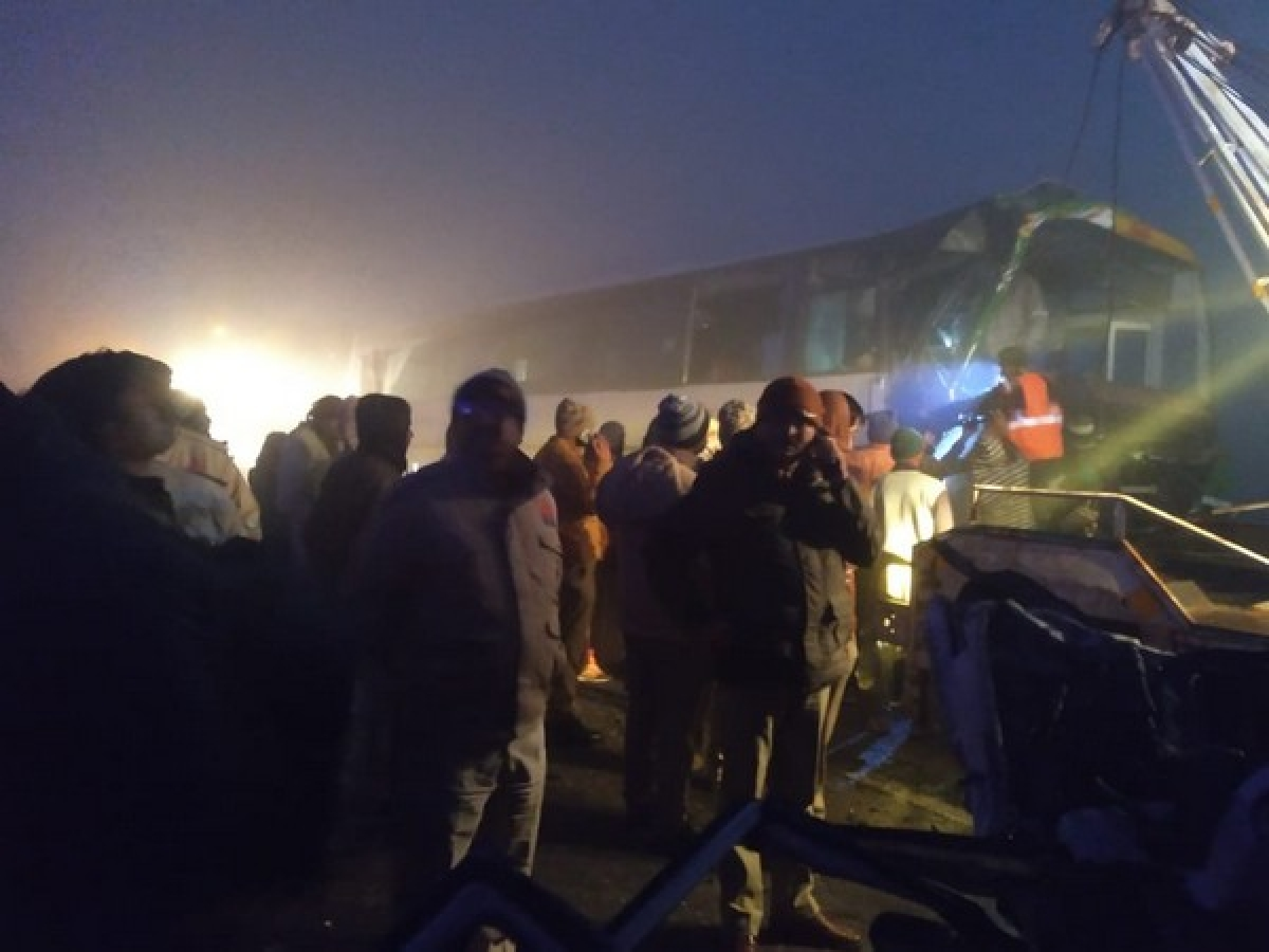 10 among the 48 onboard passengers and staff die in UP bus tragedy: District magistrate
