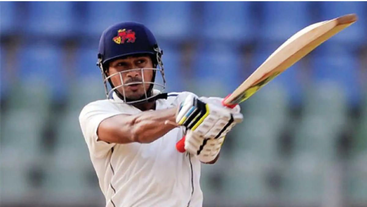 Ranji Trophy: Mumbai's Aditya Tare is a shooting star
