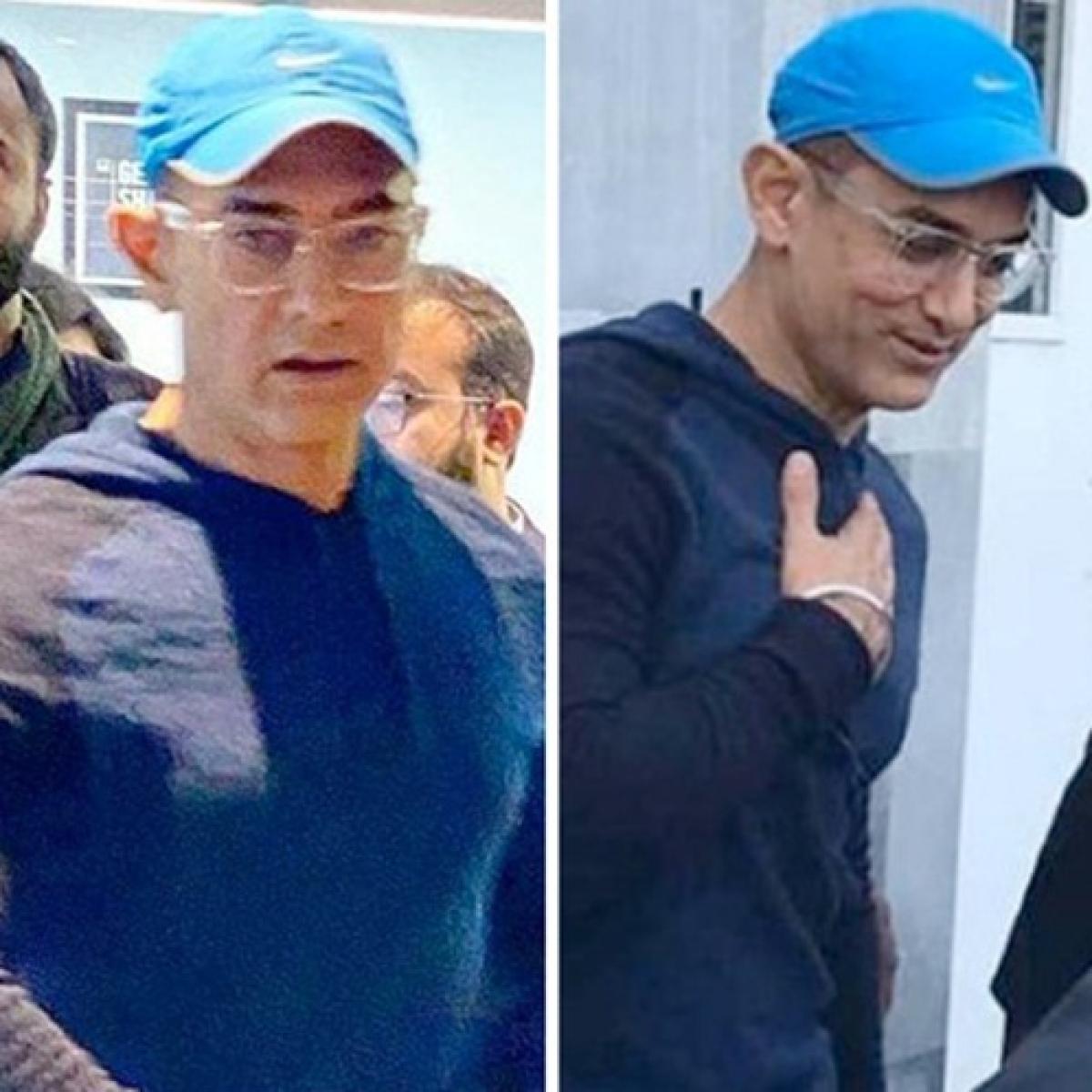 Aamir Khan sports clean-shaven look in 'Laal Singh Chaddha' leaked photos