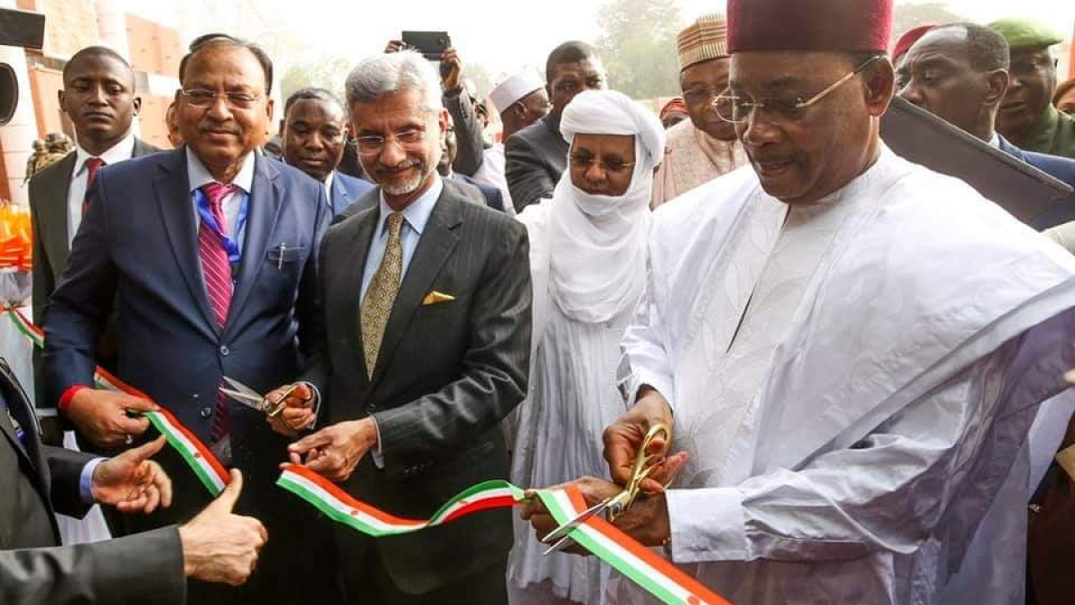 Indo-Niger friendship project in Niger inaugurated