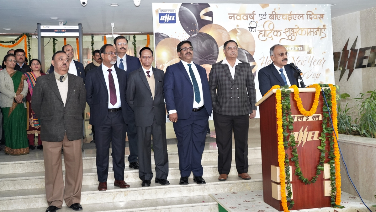 BHEL Day 2020 celebrated with fervour
