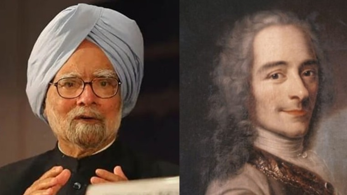 'I may not agree with you but...': Manmohan Singh, Voltaire or someone else – who actually said it?