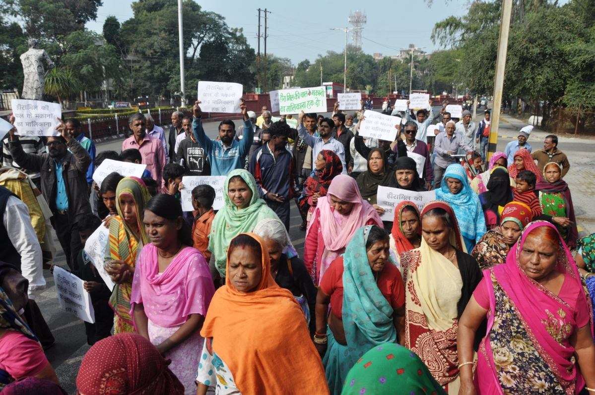 Ujjain: Residents demand ownership right on Mills' land