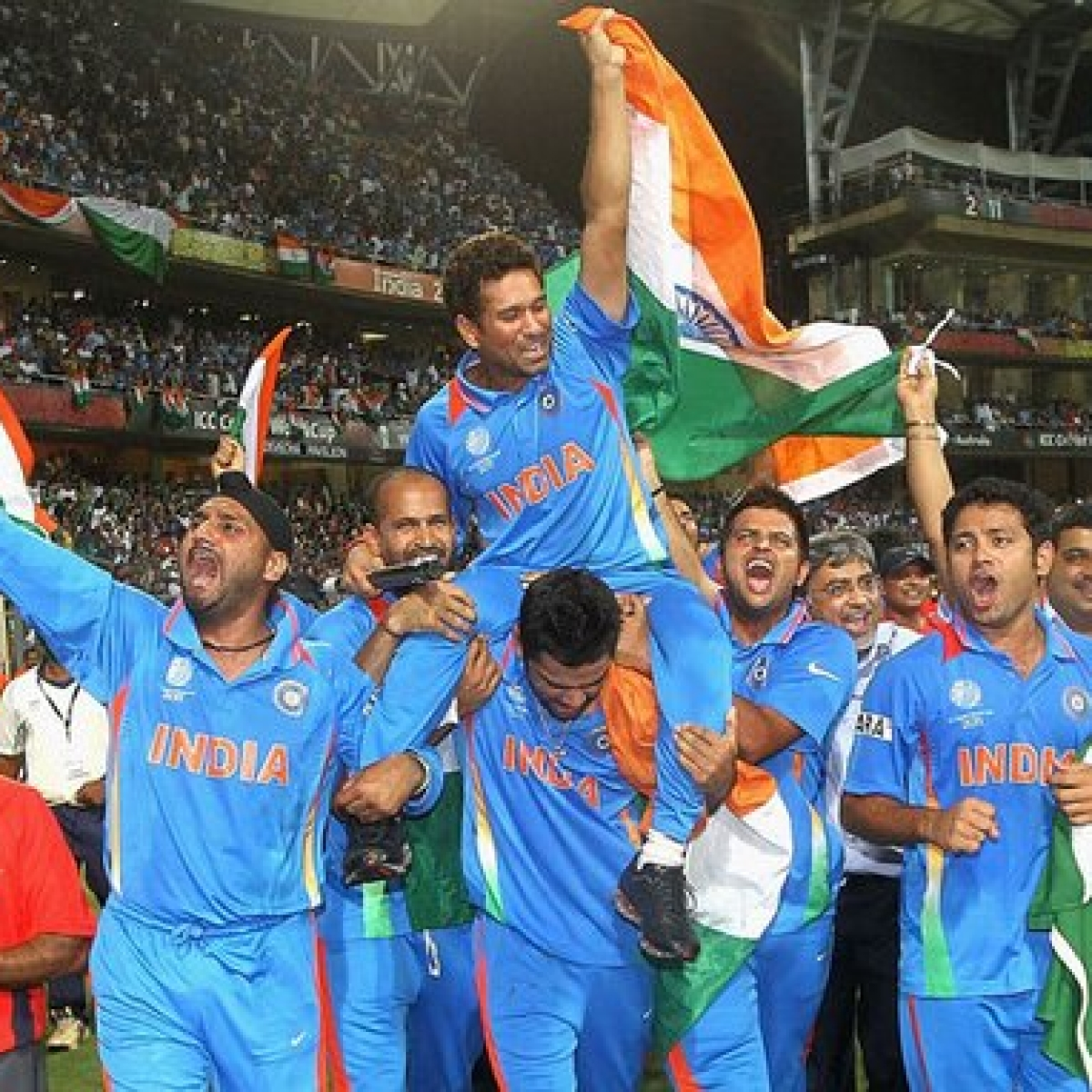 Sachin Tendulkar's 2011 WC win moment shortlisted for Laureus award