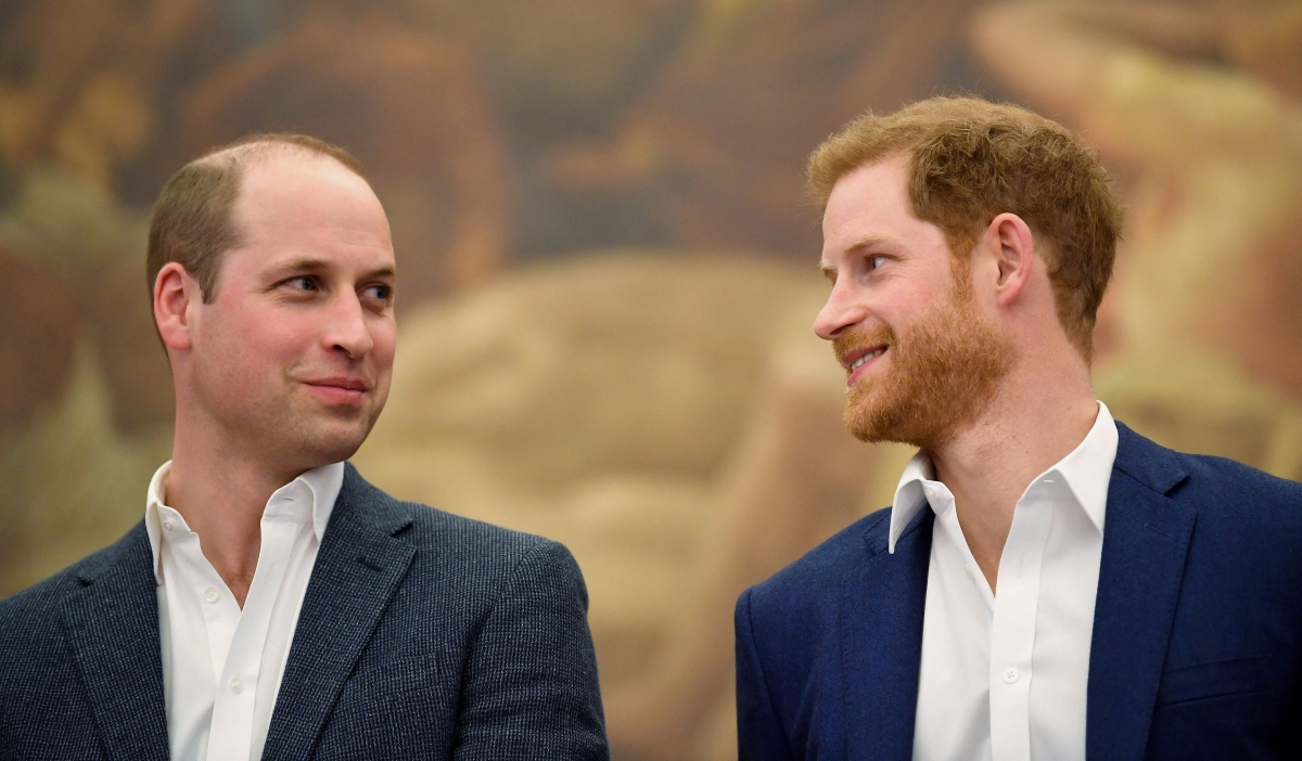 Princes William and Harry dismiss false bullying claims