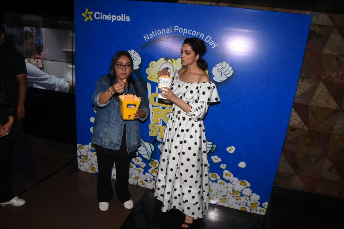 Meghna Gulzar and Deepika Padukone