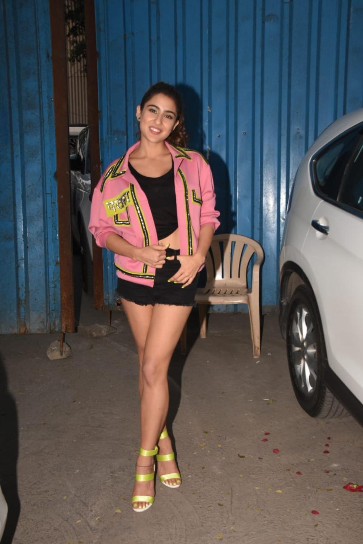 Sara at Filmcity, Mumbai