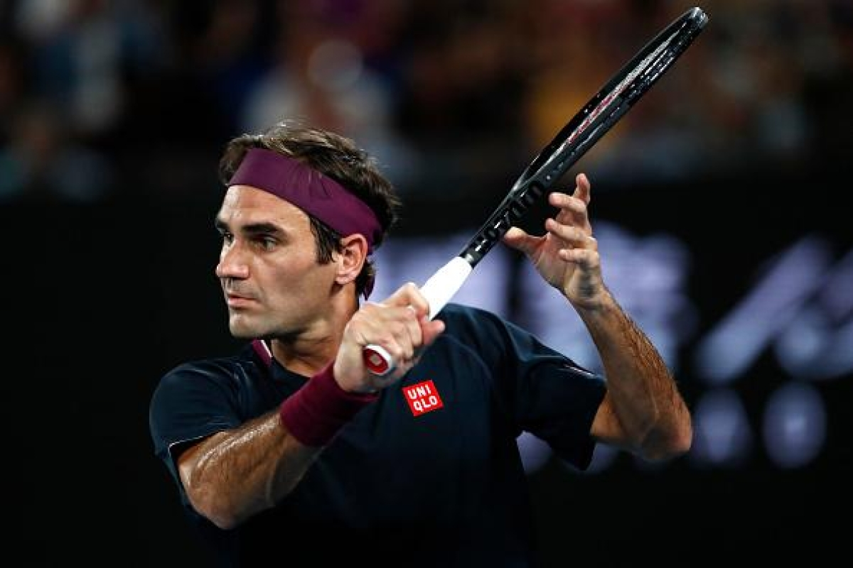 Switzerland's Tennis ace Roger Federer