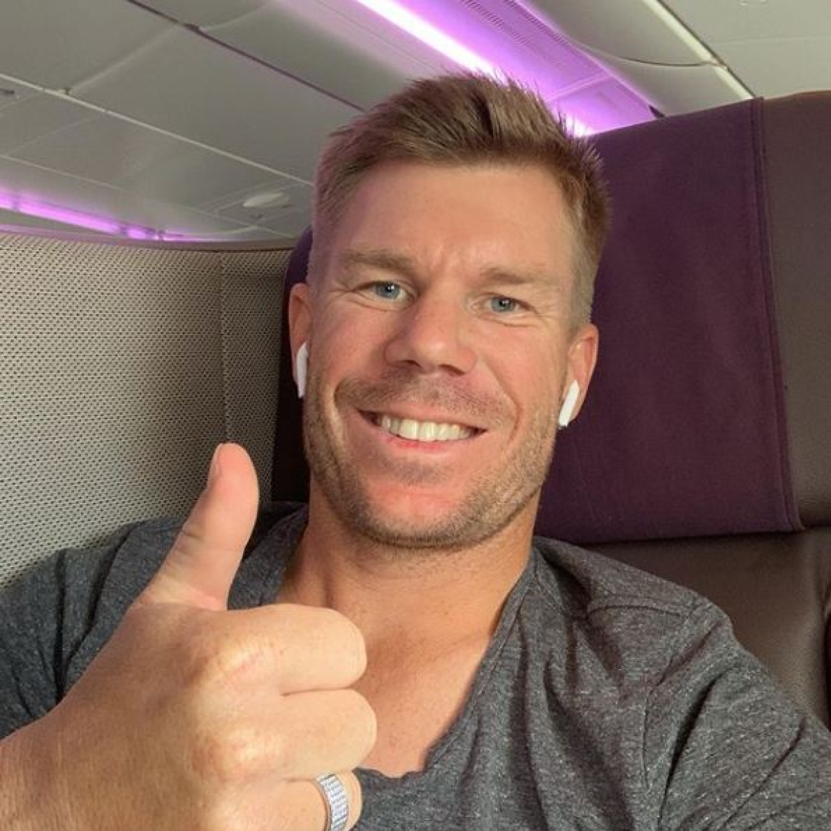 'Looking forward to seeing all our Indian fans': David Warner ahead of ODI series