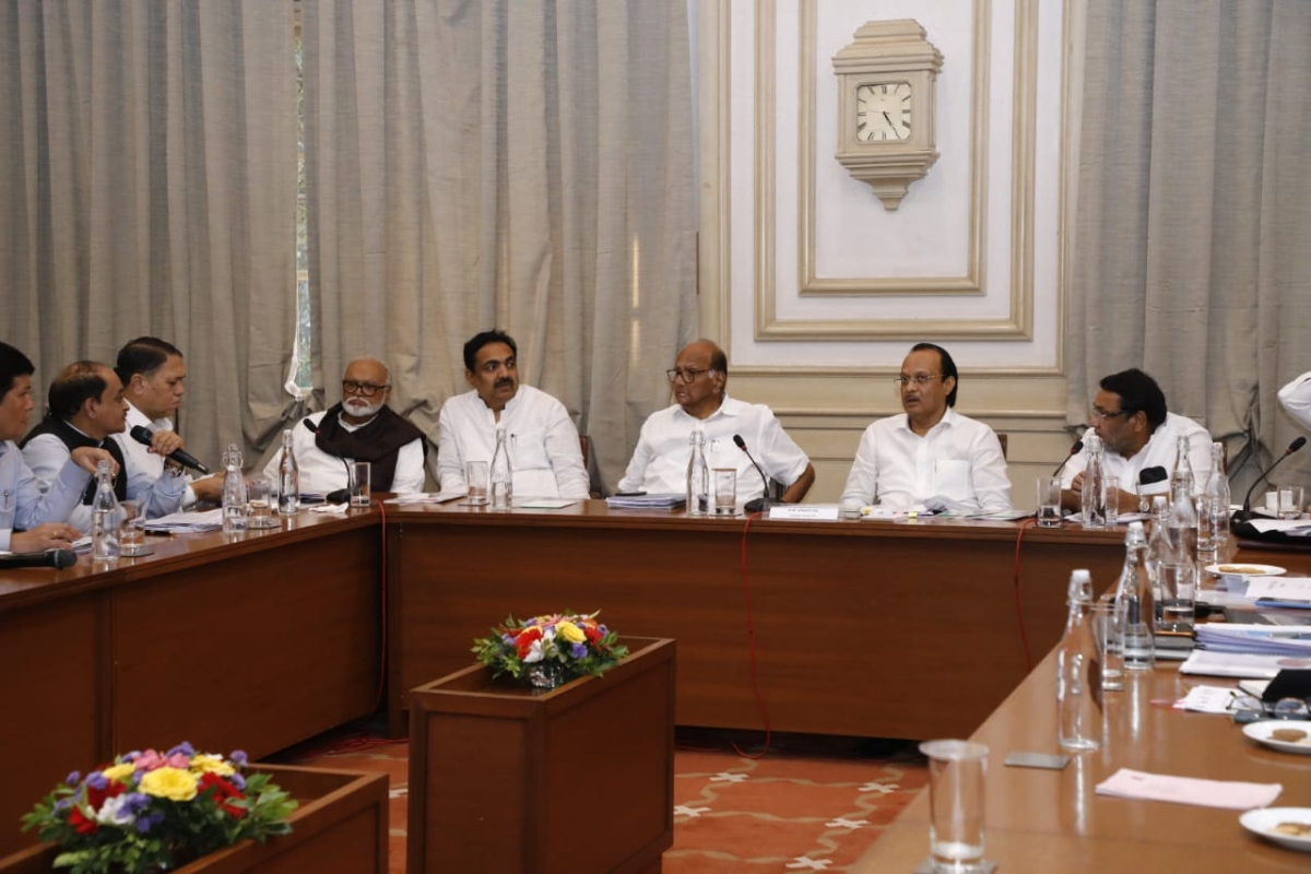 NCP cries foul over withdrawal of Sharad Pawar's security, slams BJP for 'vendetta politics'
