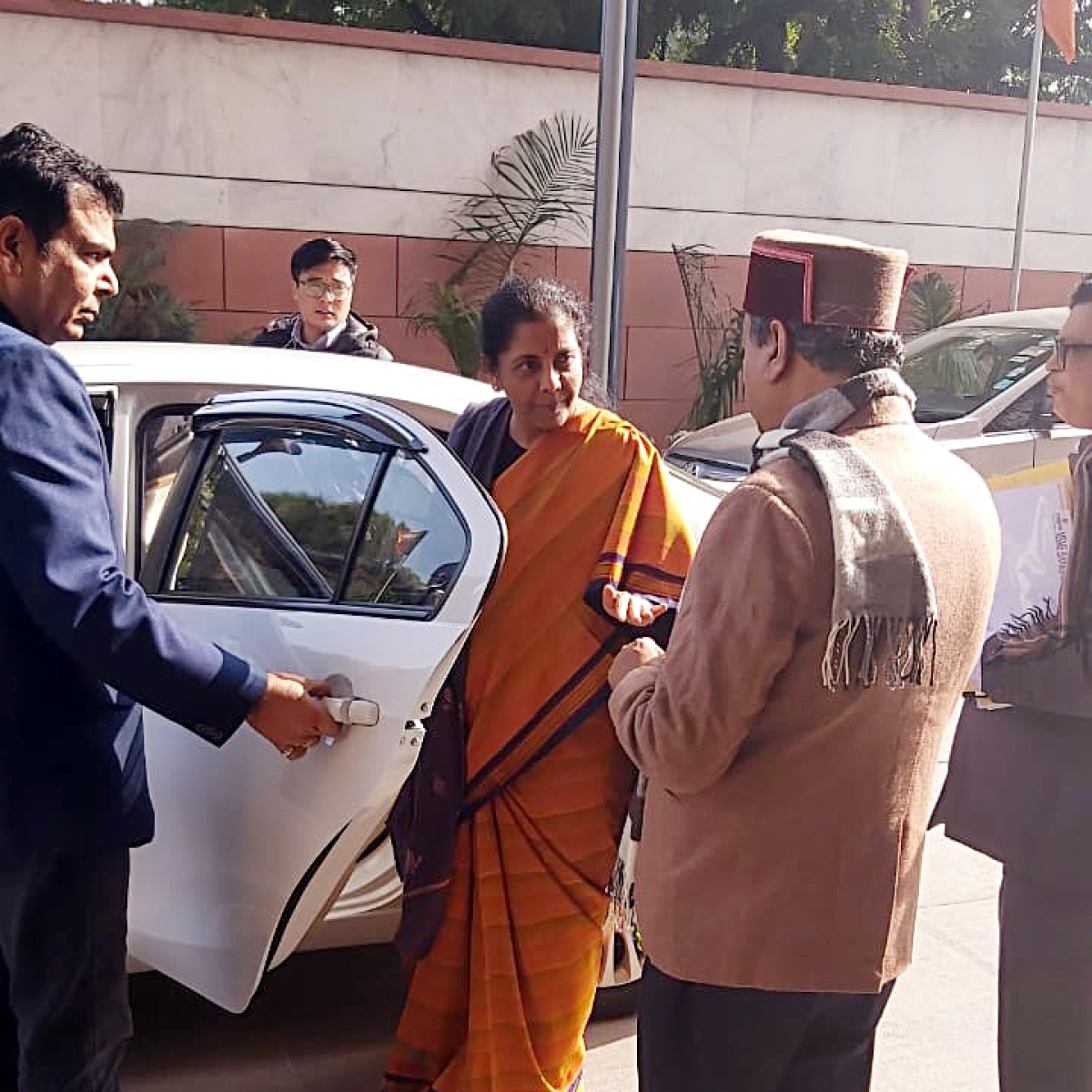 FM Nirmala Sitharaman holds pre-budget consultation with BJP leaders