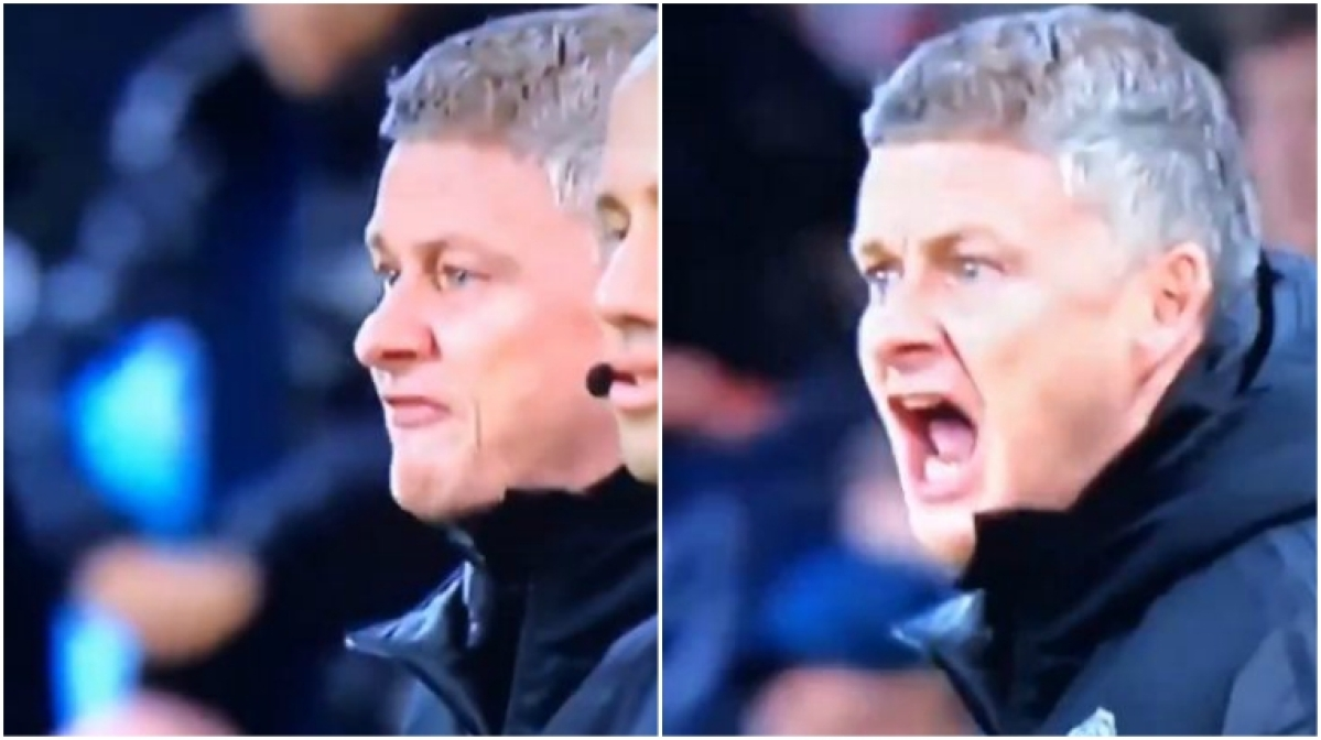 'One more time and you're f***ing off': Ole Gunnar Solskjaer scolds Jesse Lingard after awful first-touch pass