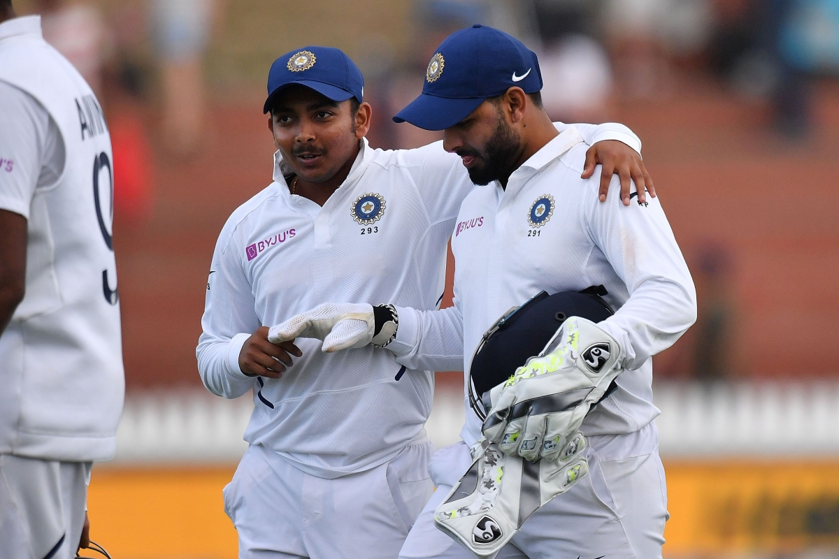 'Flat-track bully': Netizens troll Prithvi Shaw after another let-down against New Zealand in 1st Test