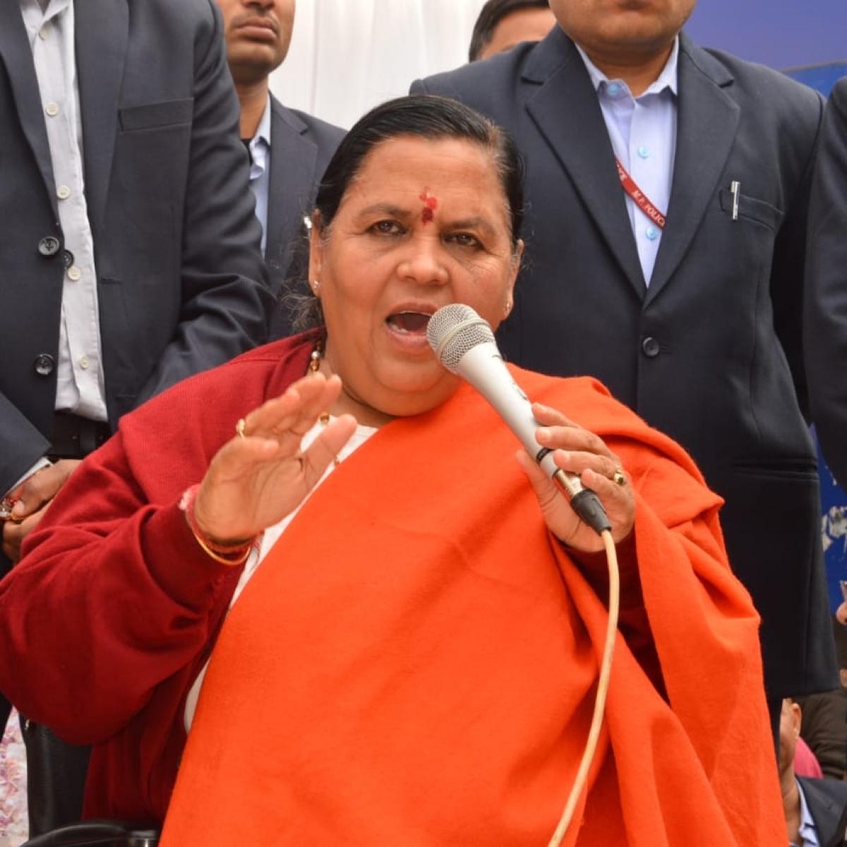 Madhya Pradesh: Kamal Nath has brilliantly fought by-elections, says BJP leader Uma Bharti