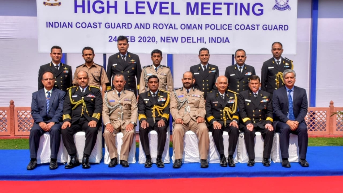 ICG hosts Royal Oman Police Coast Guard delegation in New Delhi