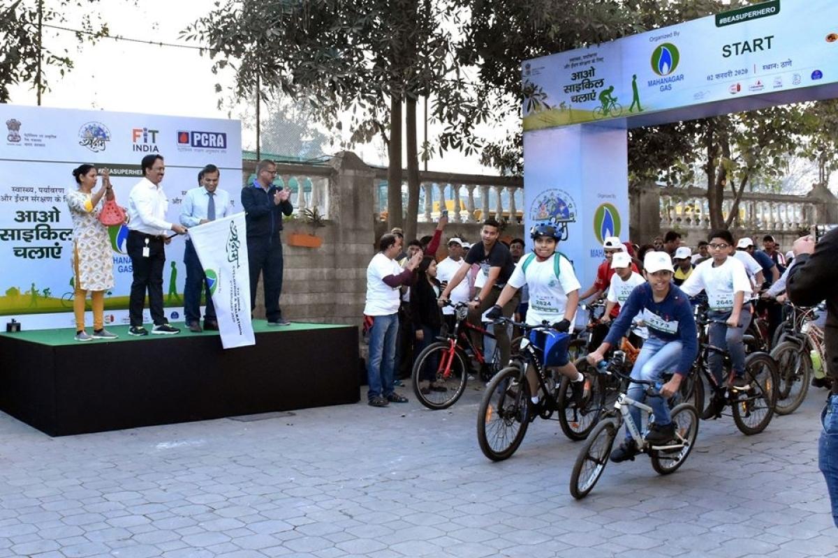 MGL conducts Cycle Rally & Walkathon in Thane and Navi Mumbai