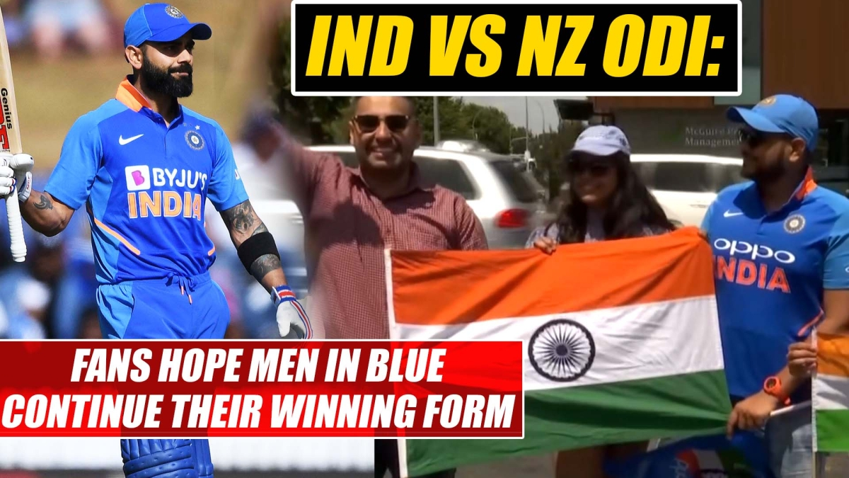 NZ vs IND ODI: Fans hope Men in Blue continue their winning form