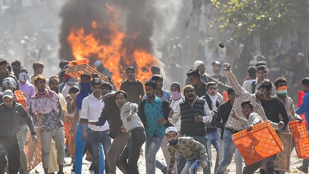 Scenes from the Delhi riots