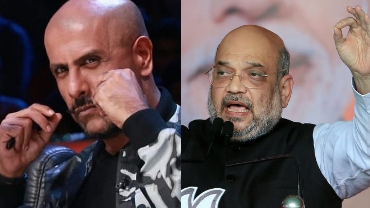 'Such shameless, vile-scheming Home Minister never happened': Vishal Dadlani lashes out at Amit Shah