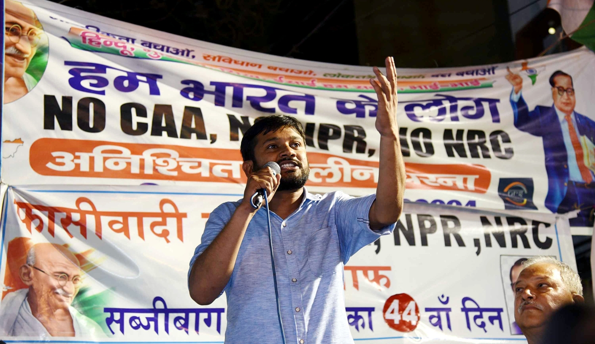 Arvind Kejriwal-led Delhi government grants sanction to prosecute former JNUSU President Kanhaiya Kumar