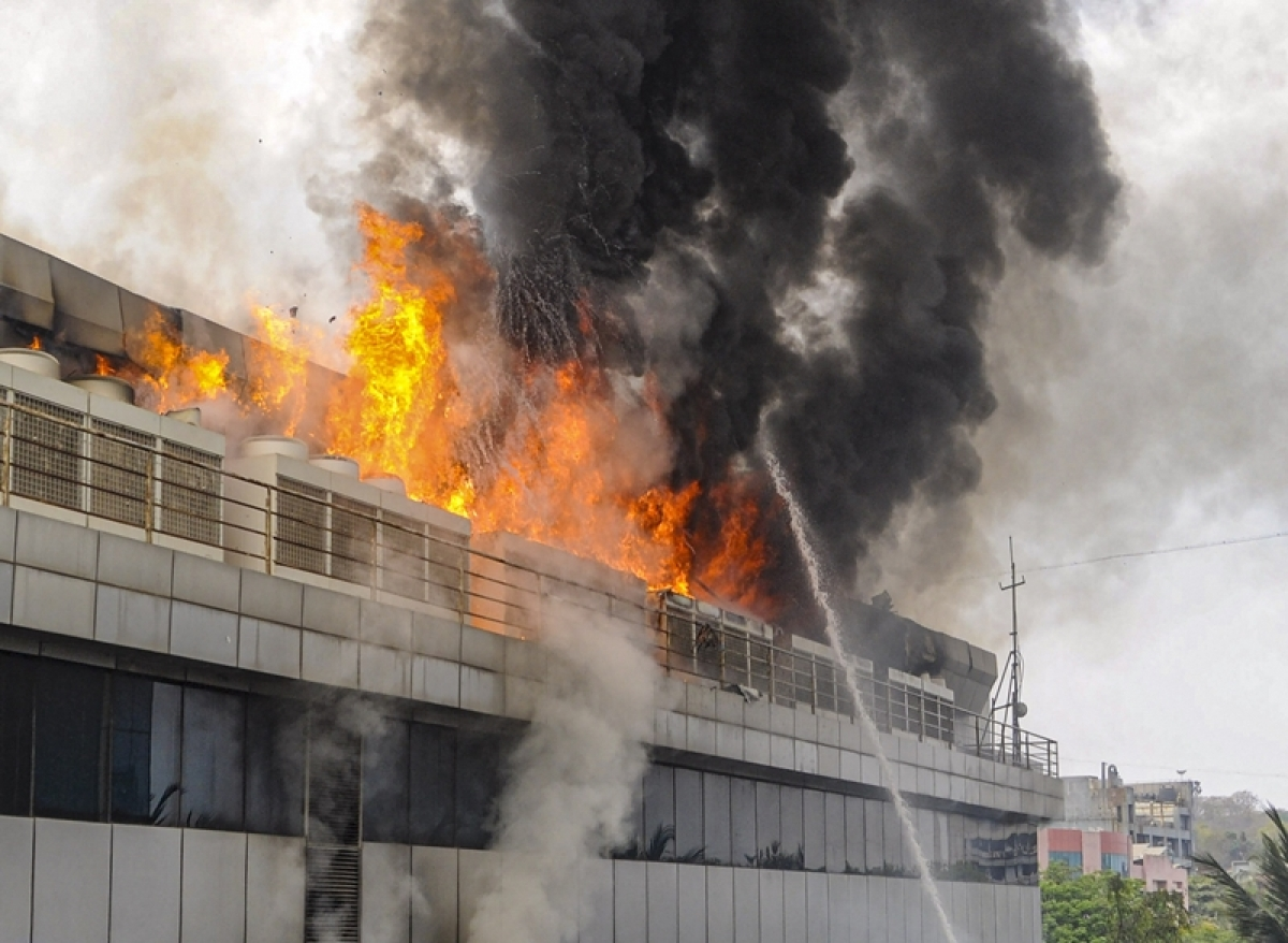Mumbai: Glamorous high rises with glass facades can turn into death traps during fire incidents