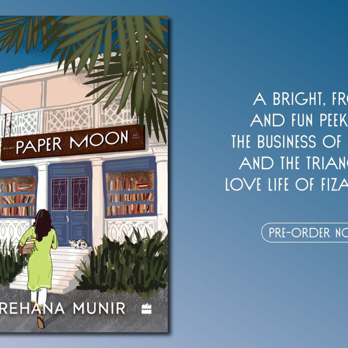 Book Review: Paper Moon; A must for every book lover