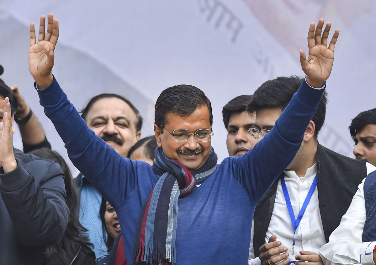 Delhi Election Results 2020 Updates: PM Modi congratulates Arvind Kejriwal on AAP's resounding victory