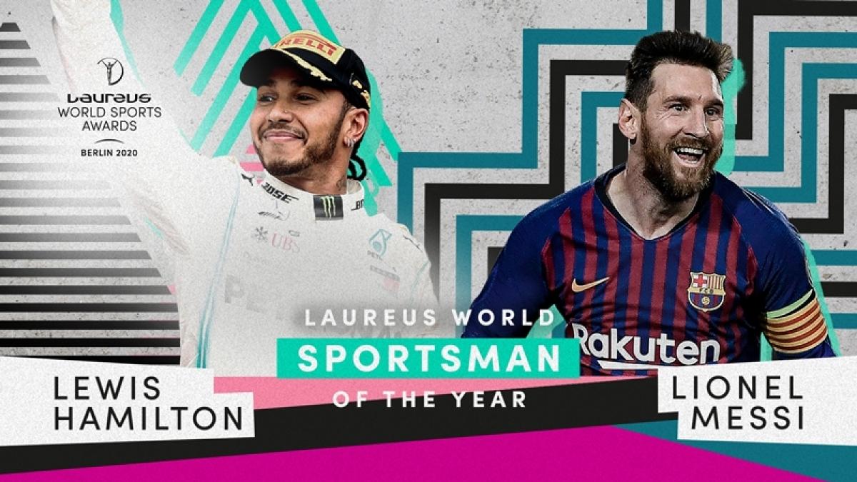 Lewis Hamilton, Lionel Messi