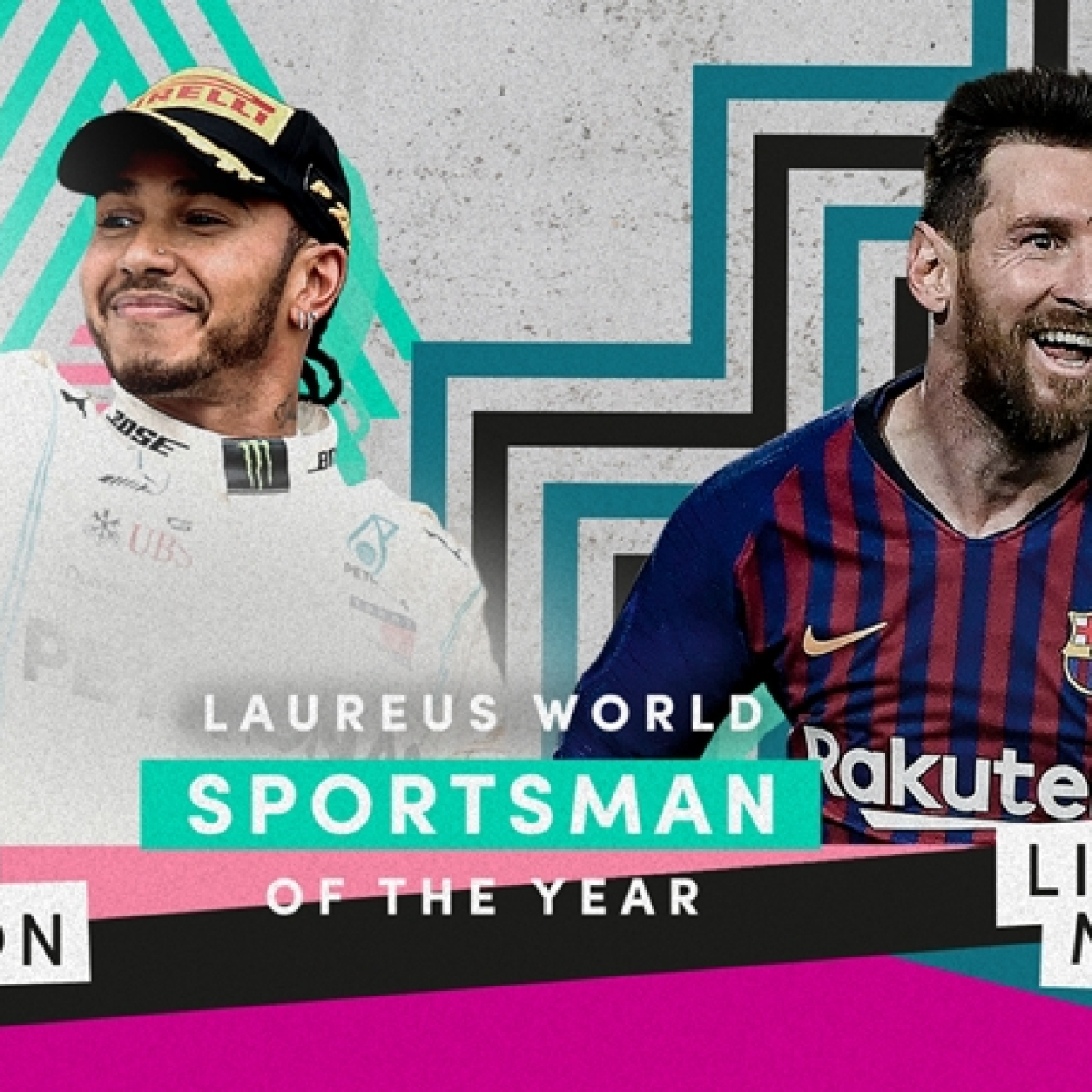 Lionel Messi, Lewis Hamilton share Laureus Sportsman of the Year award