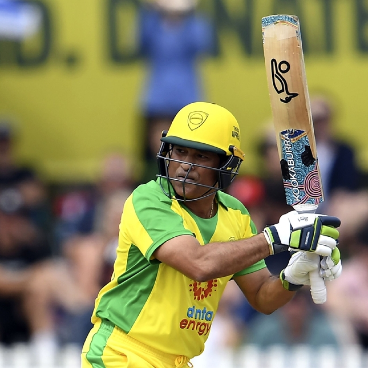 First in 5 years: Sachin Tendulkar takes the bat once again