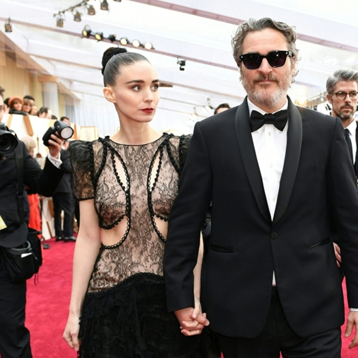 Joaquin Phoenix and Rooney Mara are expecting first child together