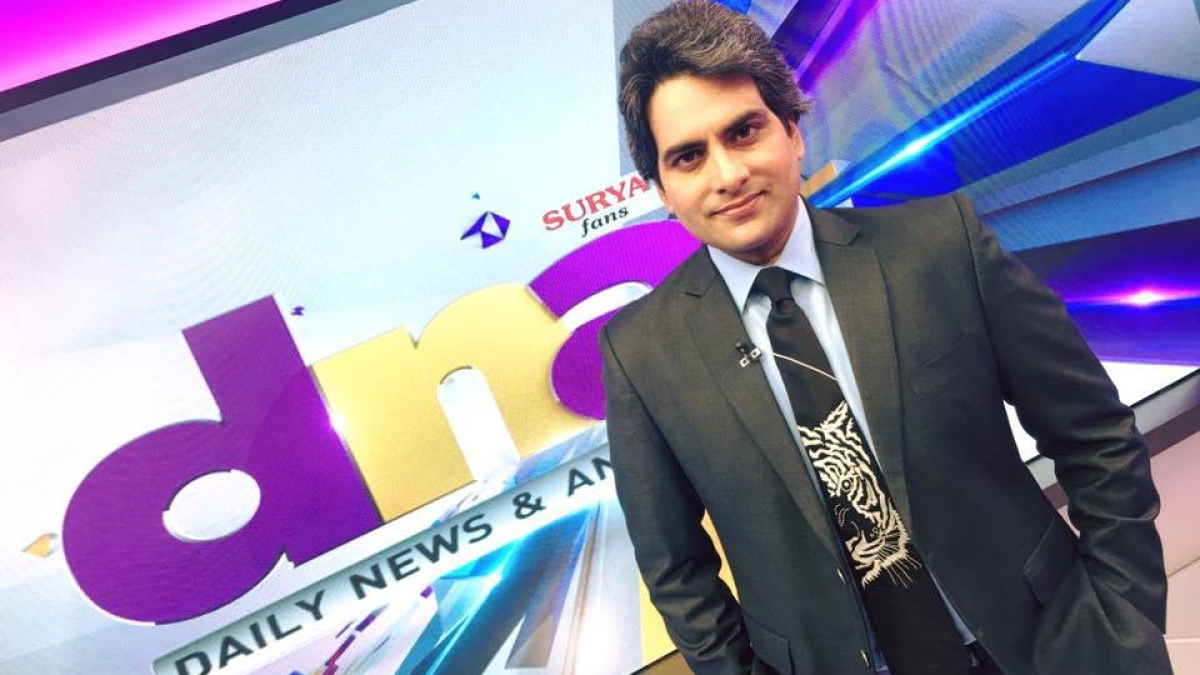 'How does this qualify as journalism?': Twitter mocks Zee News and Sudhir Chaudhary for blaming Delhi voters after exit polls