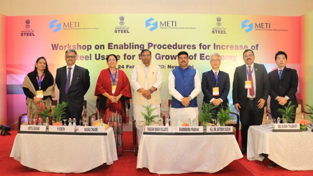 Steel Minister Pradhan seeks Japanese investment in fast-growing Indian steel market