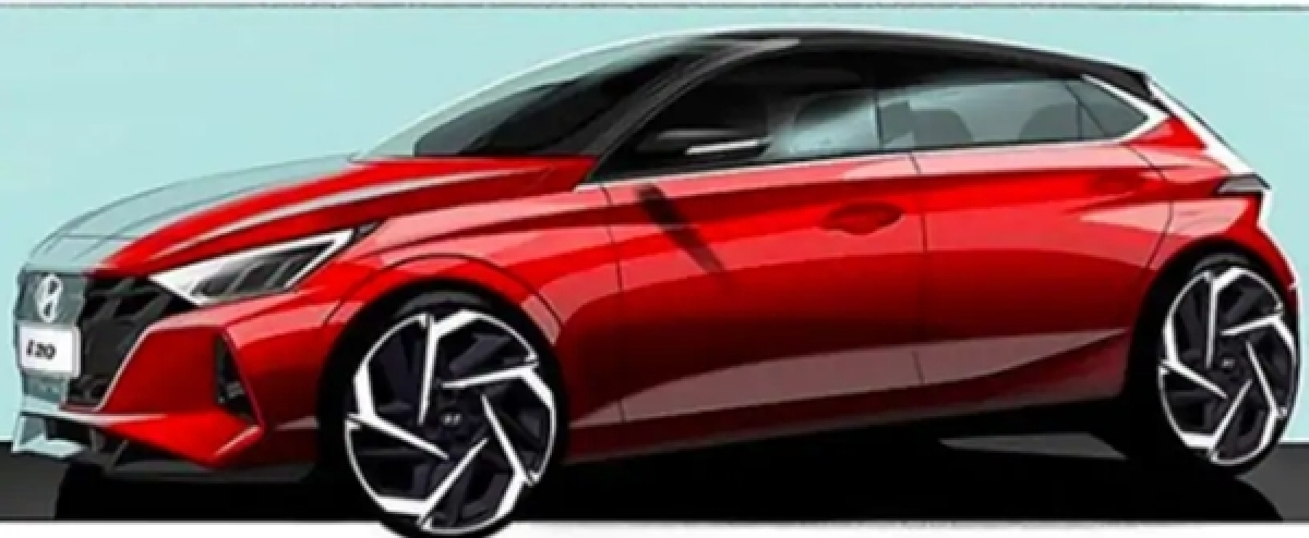2020 Hyundai Elite i20 Teased In Official Sketches