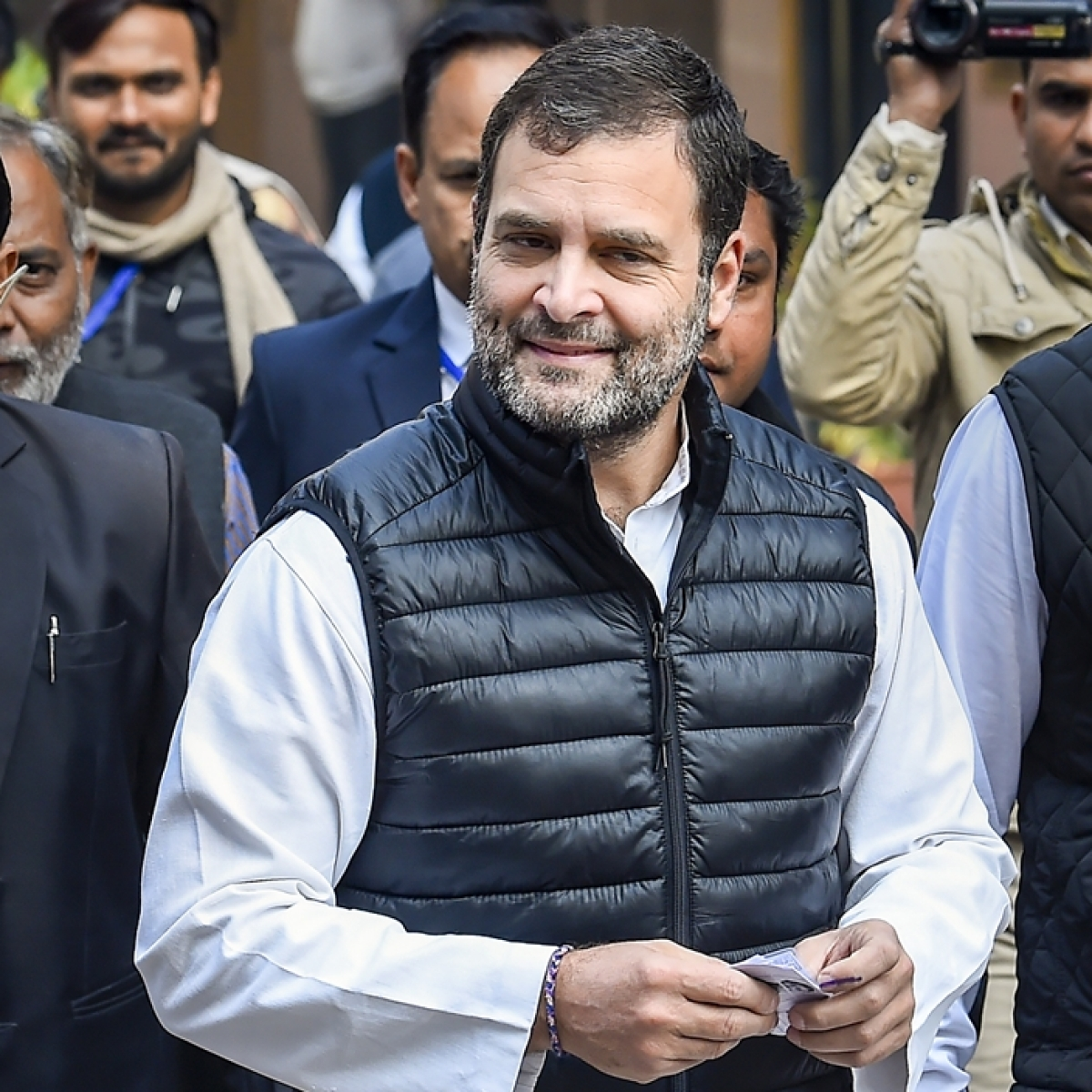 SC/ST Amendment Act: It's in DNA of RSS, BJP to try and erase reservation, says Rahul Gandhi